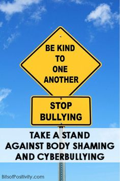 Resources about body image and anti-bullying along with a powerful video by fitness blogger Cassey Ho
