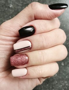 Best Beauty Nails Part 8 Crazy Nails, Love Nails, How To Do Nails, Pretty Nails, Fun Nails, Nails 2017, Perfect Nails, Winter Nails, Natural Nails