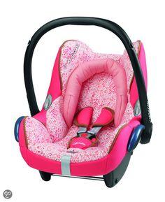 Maxi Cosi autostoel, pink!!!