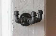 Industrial Hook by MonroeTrades on Etsy