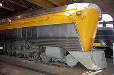 CO 490 490 is the sole surviver of only four streamlined Hudson type locomotives owned by the Chesapeake & Ohio Railroad. Rail Train, Train Art, Train Tracks, Train Rides, Ohio, Old Trains, Vintage Trains, Baltimore, Train Pictures