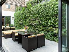 garden wall design - Google Search