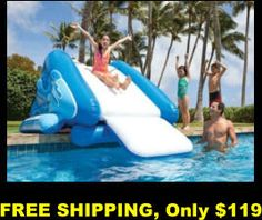 Kid's Pools, Water slides, Swing-sets-sets, Rent Sheds, FREE shipping, no sales tax, no interest financing, ADD to Amazon cart for DEALS, play-sets, play-houses, active play, Outdoor living