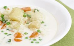 Koskenlaskijan kesäkeitto Cantaloupe, Risotto, Potato Salad, Cauliflower, Food To Make, Meals, Fruit, Vegetables, Healthy