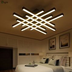 Modern Geometric Metal Dimmable Led Ceiling Lights Lustre Acrylic Living Room Led Ceiling Lamp Bedroom Led Ceiling Light Fixture (With images) Gypsum Ceiling Design, House Ceiling Design, Ceiling Design Living Room, Bedroom False Ceiling Design, False Ceiling Living Room, Ceiling Light Design, False Ceiling Ideas, Modern Ceiling Design, Best False Ceiling Designs