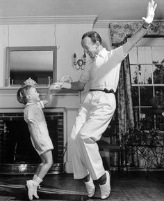 Fathers And Sons. Fred Astaire and Fred Astaire, Jr., 1940.