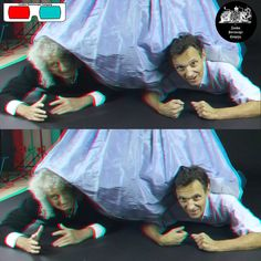 Brian May And Denis Pellerin - 3D Anaglyph Photography.