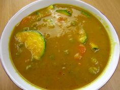 Vegetarian Curry Soup