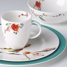 My china pattern... 4 place settings down, 4 to go! Chirp by Lenox