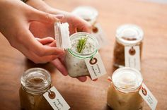 Treat yourself with a homemade lip scrub.