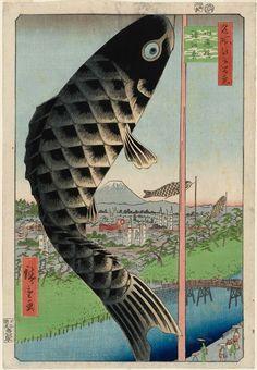 Hiroshige_Suidô Bridge and Surugadai