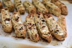 chocolate-cranberry-almond-poppy seed cantuccini // Wayward Spark