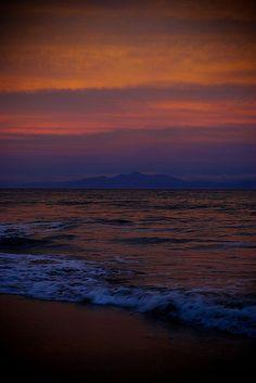 Sunset at Montezuma Beach - Costa Rica