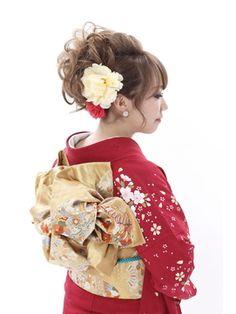 振袖髪型(成人式&結婚式) リリー 六本木(Lily) カールアップ