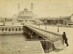 L'ancien palais du trocadéro en 1920