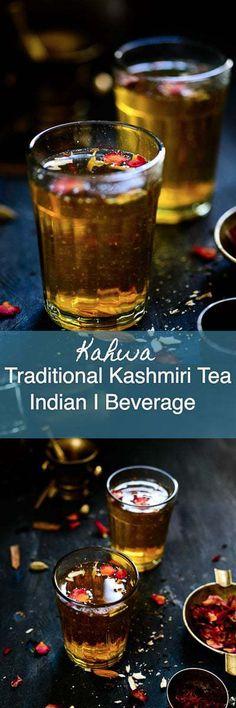 Kashmiri Kahwa is a traditional Kashmiri tea flavoured with cardamom and infused with cloves, cinnamon and saffron. Here is how to make this refreshing beverage. Indian I Kashmiri i tea i kahwah I kehwa i easy I simple I best I Traditional i authentic i #Kashmiri #Tea #Kahwa via @WhiskAffair