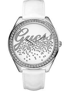 """White """"Iconic Party Girl Wach""""  #Guess"""