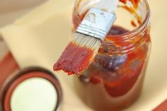 BBQ Sauce - Ever wonder what makes barbeque sauce so delich?  Perhaps it's the 30 grams or more of sugar per 1/4 cup serving?  Surely we shouldn't have to give up on this comfort food fav.  So, try this innovative recipe.