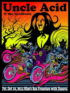 Uncle Acid And The Deadbeats San Francisco 2014 - Dirty Donny (own)