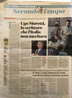 di Massimo Novelli IL FATTO QUOTIDIANO 1 febbraio 2020 Event Ticket, Culture