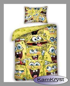 Pościel SpongeBob w rozmiarze 140x200 - już wkrótce dostępna na stronach sklepu #spongebob #sponebob_bedding