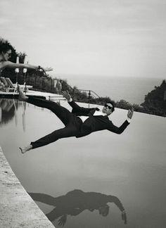 Alain Delon by Peter Lindbergh