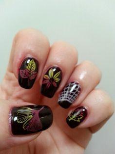 IBD PlumRaven nail art Nail Art 2014, Gel Nail Polish, Nails, Finger Nails, Ongles, Nail, Uv Gel Nails, Nail Manicure