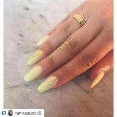 Prossimamente ci sara' lei ad aiutarmi e soprattutto a soddisfare tutte le persone che con me non riescono a prendere appuntamento!   #studio #WORKINPROGRESS #taniaesposito #mikelabrandi #nails #napoli  #Repost @taniaesposit0 with @repostapp.   Giallo Pastello  #nails #acrilico #nailartist #work #risultati #tags4like #likeforlike #followme #follow4follow #followers #acrilic #instapic #instacool #acrilic #nailsalon #nailsoftheday #nailsdid #nailstagram #nailschepassione #nailspolish #nail…