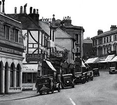 The High Street c1947. Photo originally uploaded by Bruce Maltby.