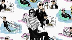 #Karl_Lagerfeld #around the world #article