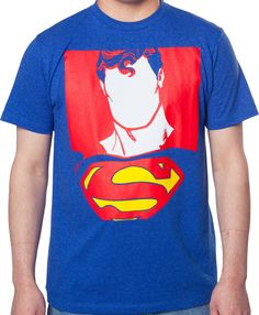 Faceless Superman Shirt