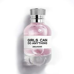 Zadig & Voltaire perfume Girls Can do Anything desde € - Cosmetics Perfume Oils, Perfume Bottles, Cologne, Perfume Zara, Fragrance Parfum, Zadig And Voltaire, Parfum Spray, Essential Oils, Birthday