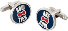 Doctor Who Bow Ties Are Cool Cufflinks