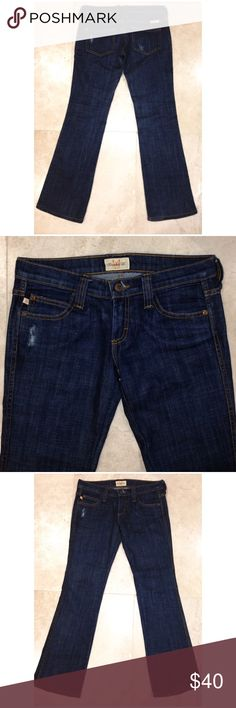 """▪️Frankie B. Jeans▪️ ✔️10% OFF Bundles Plus FREE SHIPPING!✔️ Frankie B. Jeans in size 6 with a 31"""" inseam come preloved and in VERY GOOD condition. Low rise (7""""), medium wash and boot cut. Cute and smaller size back pockets. Great every day jeans! My prices fluctuate often for sales & specials, so catch your favorite items when prices are low. Thank you shopping my closet. Mahalo!🤙🏼♥️ Frankie B. Jeans Boot Cut"""