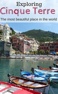 Our guide to things to do in Cinque Terre, Cinque Terre with kids and everything else you need to know to visit our absolutely favourite destination in the world. http://www.wheressharon.com/europe-with-kids/what-to-do-in-cinque-terre/