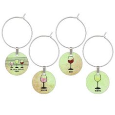 Lime Green and White Bridal Shower Wine Glass Charm Bridal Shower Wine, White Bridal Shower, Bridal Showers, Gifts For Wine Lovers, Wine Gifts, Lovers Gift, Wine Bottle Charms, Custom Wine Labels, Bridal Shower Decorations