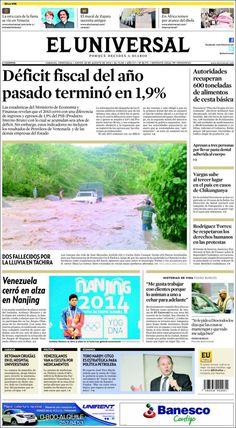 El Universal 28/08/2014