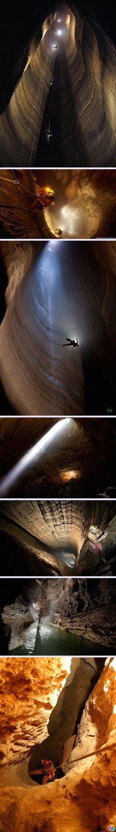 Dünyanın En Derin Mağarası Krubera - 1.3 Mil