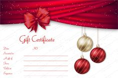 printable gift certificates   This is another printable gift     Christmas Gift Certificate Template 5 Awesome Christmas Gift Certificate  Templates To End Christmas Gift Certificate Template 11 Word Pdf Documents