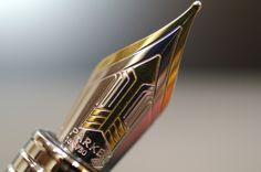 Ministry of Plenty: #Parker Premier Silver ST M nib Fountain Pen by Naoyuki Fukuda