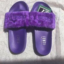 PUMA FENTY Fur Slides by Rihanna 7a1c637ae
