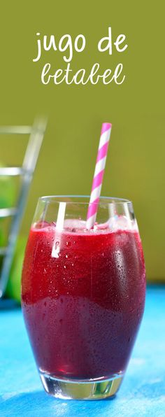 Con un intenso color morado y un delicioso sabor, este jugo te hará quemar grasa y sentirte súper bien. El jugo de betabel es una preparación muy sabrosa y sobre todo muy saludable.