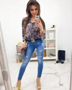Dámske džínsy v módnom prevedení - Oblečiemsa. Chic, Style, Fashion, Shabby Chic, Swag, Moda, Elegant, Fashion Styles, Fashion Illustrations