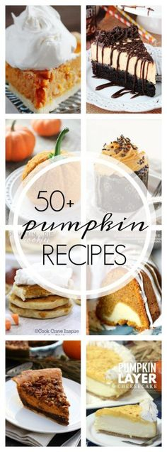 50+ of the Best Pumpkin Recipes - A Dash of Sanity