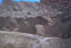 TRAVEL TREASURE #3 Dodging Death in Death Valley.  Read about this travel treasure here: http://mostlyvictoria.com/2013/09/29/travel-treasure-3-dodging-death-in-death-valley/  #DeathValley #ZabriskiePoint #Desert #Survival #Mojave #Danger
