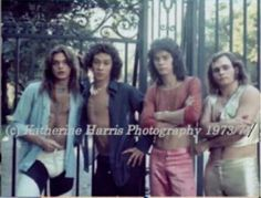 """""""VERY RARE PIC OF VAN HALEN C. 1973,..THE BEGINNING OF MICHAEL ANTHONY'S INVOLVEMENT WITH THE BAND!"""""""