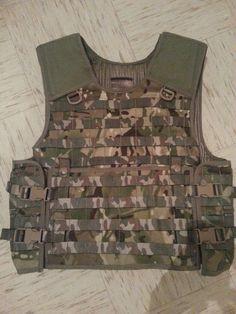 Multicam level 3a body armor.