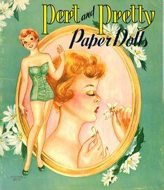 Pert & Pretty 1954 Saalfield #2621 - Bobe Green - Picasa Albums Web