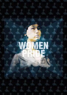 Women pride  Design: Guglielmo Paradisi