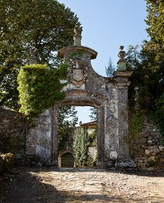An abandoned Quita (vine estate) on the outskirts of Favaios on the old Roman…